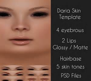 second life marketplace b o n t a daria skin full