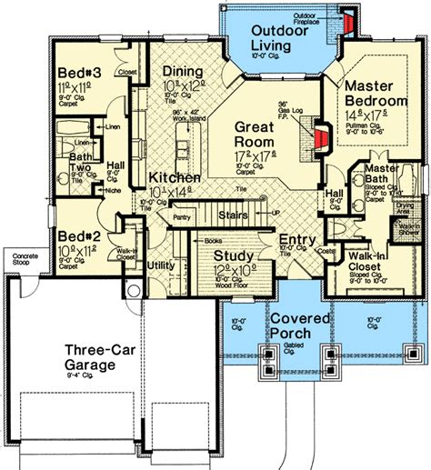 european house plans one story exclusive one story european house plan 48530fm