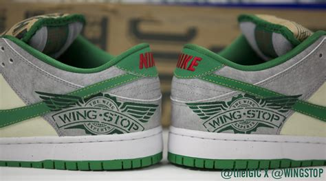 custom nike dunks  wing stops ceo  theigic