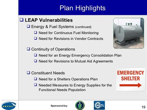 Lu Emergency Cas doe s local energy assurance planning initiative the