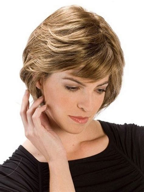 haircuts for round face layers layered hairstyles for round faces hairstylegalleries com