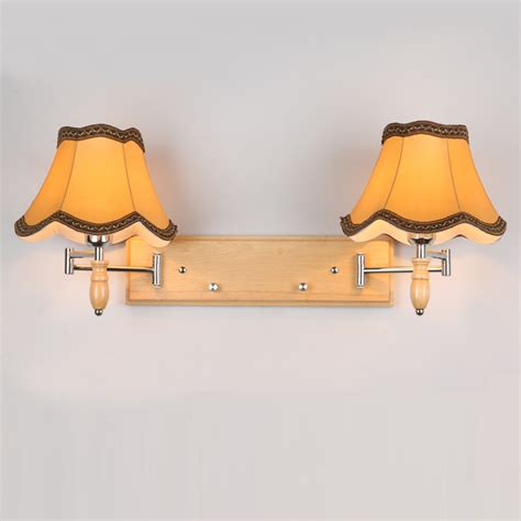 Bedroom Wall Lights With Dimmer Switch Fabric Lshade Big El Wall Ls Satin Golden Luxurious