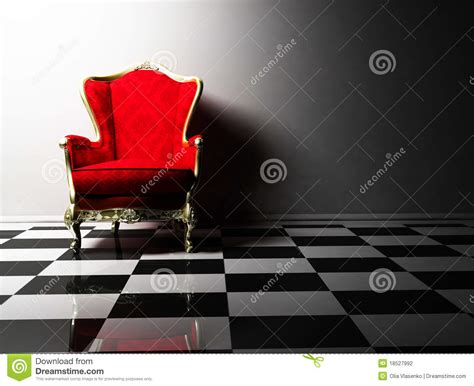 armchair design classic interior design with an armchair royalty free stock photo