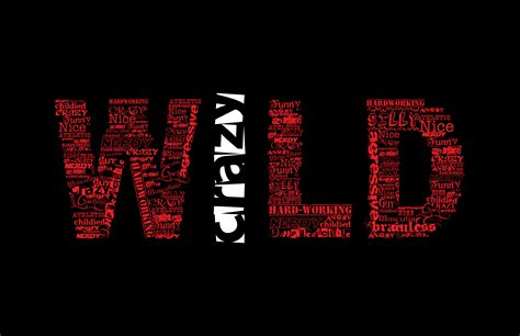 wallpaper cool word crazy wild style background words wallpaper 5100x3300