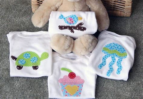 Handmade Baby Onesies - bump smitten diy tutorial handmade onesies