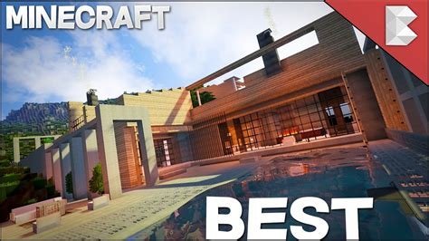 top house 2017 minecraft best modern house 2017