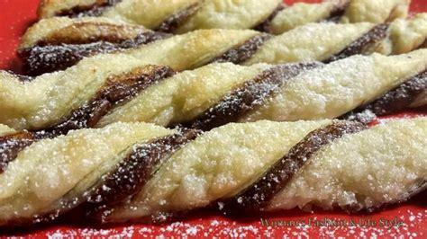 dolci diversi pasta sfoglia e nutella dieci idee per preparare dolci