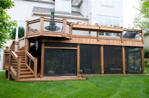 2 Story Home With Deck Two Story Deck Looooooooooooove This 2 Story