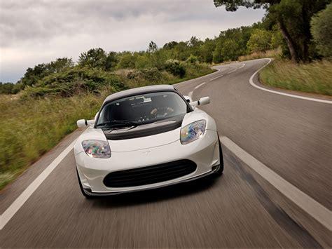 Tesla Cars Europe 2012 Tesla Roadster 2 5 Arctic White Europe 1024x768