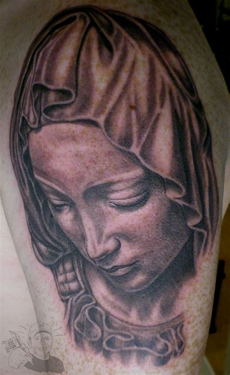mama mary tattoo design tattoos meaning outline