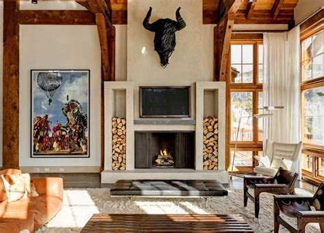 fireplace log storage creative ways to store your firewood this autumn