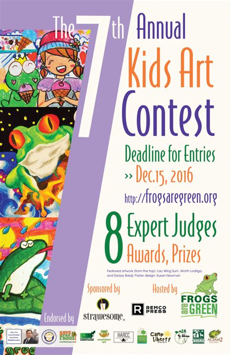Drawing Contest by Frogs Are Green Contest International Bell