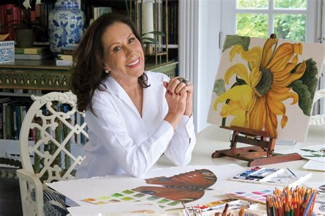 carolyne roehm the pursuit of beauty artist in residence carolyne roehm