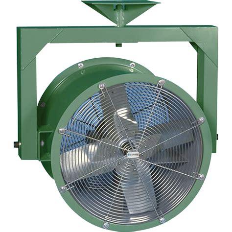 industrial wall mount fans canarm yoke mount industrial fan 24in 1 hp 6 761 cfm