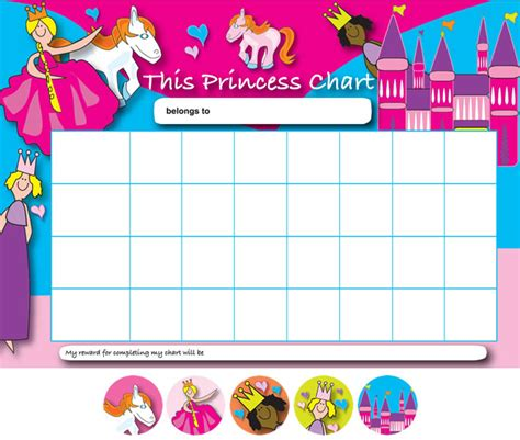 princess reward chart car interior design