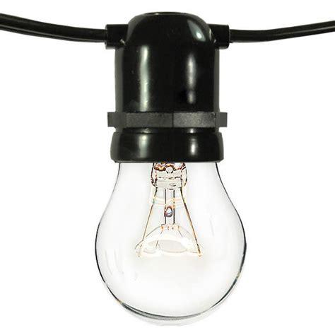 Outdoor String Light Sockets 100 Ft Patio Light String Plt Yxl C2a L48