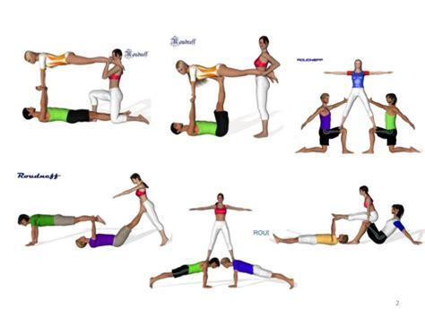 imagenes de yoga de tres personas figuras acrosport y seguridad
