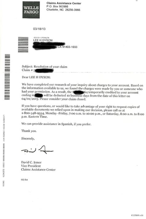 Fargo Credit Dispute Letter Ripoff Report Fargo Complaint Review San Francisco California