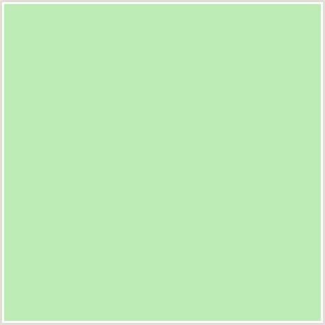 tea green color bdecb6 hex color rgb 189 236 182 green tea green