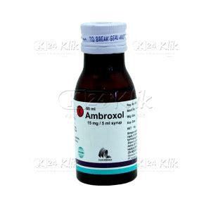 Obat Ambroxol jual beli ambroxol syr 60ml 15mg 5ml k24klik
