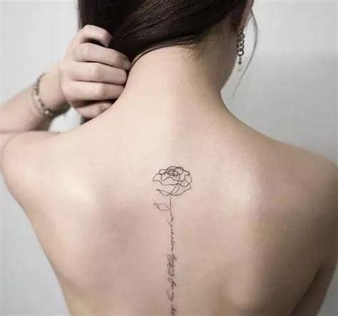 纹身师因淡雅小清新纹身而走红 适合女生的纹 北京纹身店东方印记