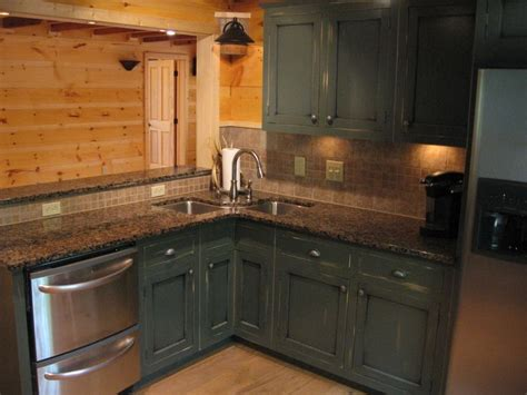 Cabin Kitchen Cabinets by Cabinets In Cabins Cabinets Kitchen Cabinets