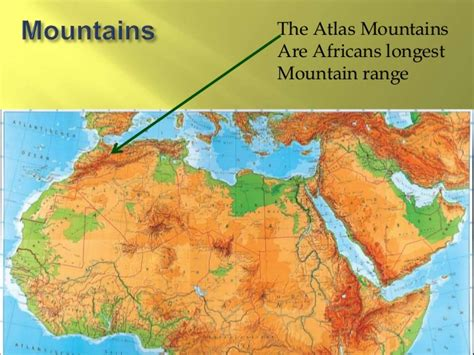 middle east map atlas mountains related keywords suggestions for africa mountains