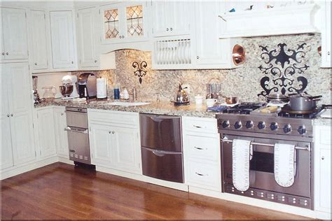 white kitchen cabinets with stainless appliances kitchen design white cabinets stainless appliances white