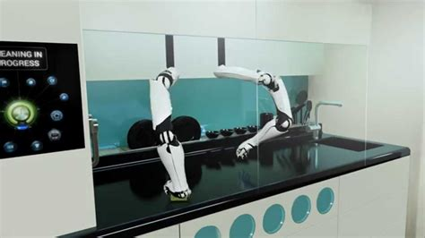 Robot Kitchen by The World S Robotic Kitchen Tv Commercial