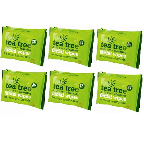 Daily Mail Detox Tea by 150 X Daily Use Cleansing Tea Tree Wipes Makeup