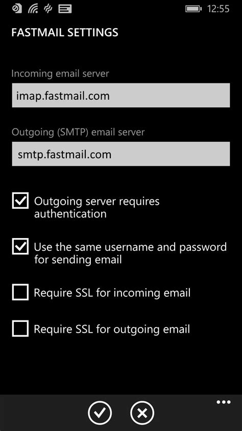 fastmail mobile how to set up your windows phone fastmail