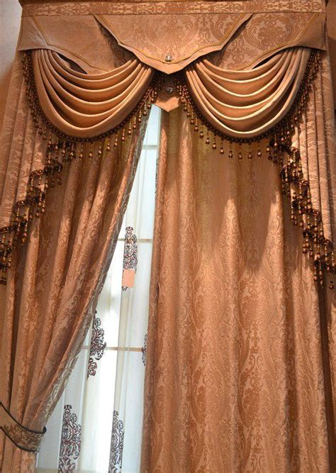 beautiful draperies beautiful swags jabots louis eight valance interior