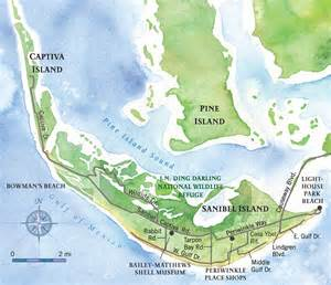 sanibel island map free printable maps