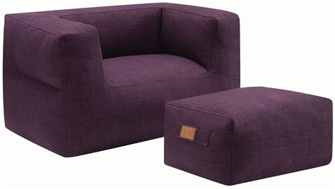 purple chair and ottoman purple ottoman and chair 904010 coaster furniture
