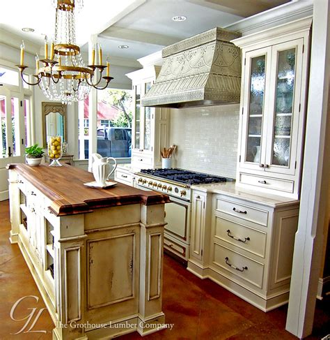 kitchen island counter walnut wood countertop kitchen island new orleans louisiana