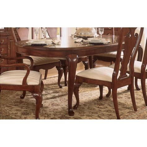 American Drew Cherry Grove Dining Room 792 760 American Drew Furniture Cherry Grove Oval Leg Table