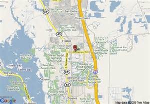 where is fort myers florida located on a map map of fort myers florida my