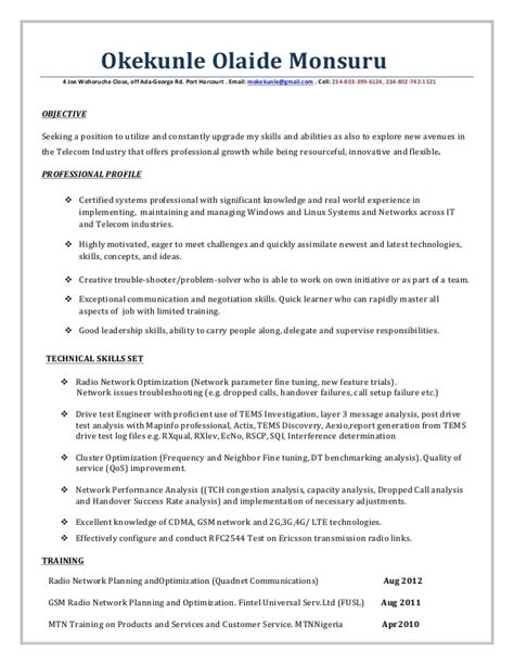 rf engineer resume sle rf engineer resume format 28 images 100 electronic