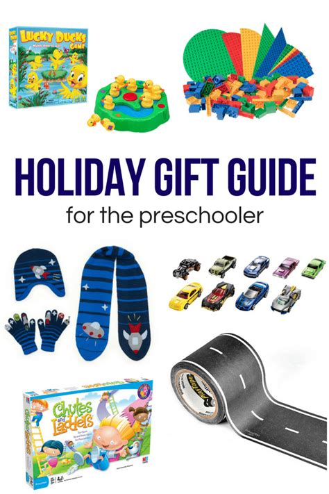 gift guide for the preschooler typically simple