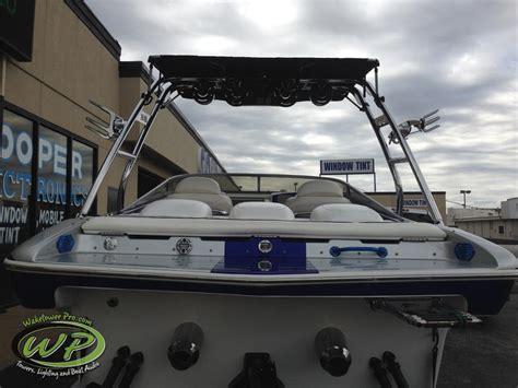 boat speakers installation wakeboard tower boat tower waketower speakers pontoon