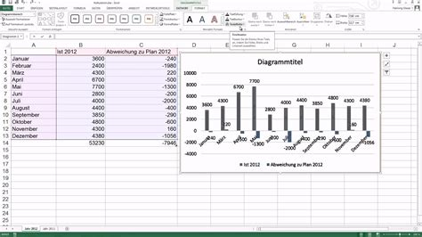 tutorial excel 2010 diagramm excel 2013 diagramm erstellen youtube