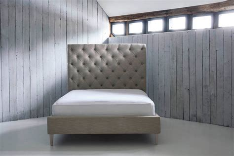 high padded headboard isabella non storage bed by love your home