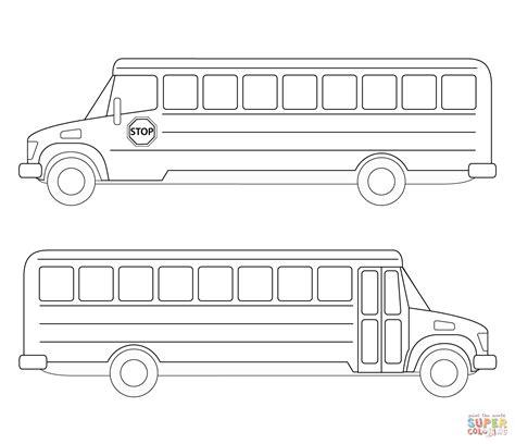 printable school bus coloring page school bus coloring page free printable coloring pages