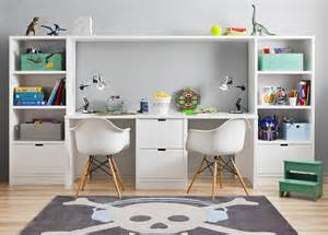 Desks For Kids Bedrooms Habitaci 243 N De Estudio Para Adolescentes