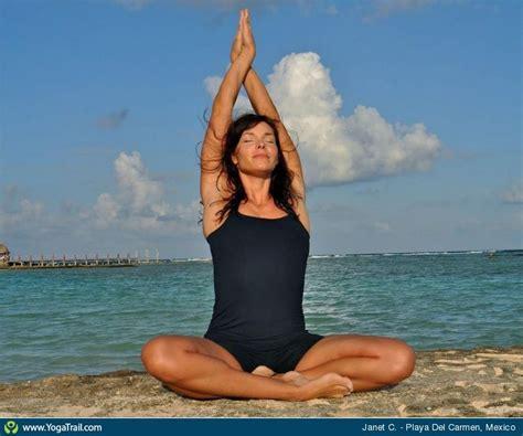 imagenes yoga en la playa yoga poses around the world quot janet c in playa del