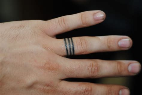 tattoo bands for men 61 awesome engagement ring finger tattoos designs