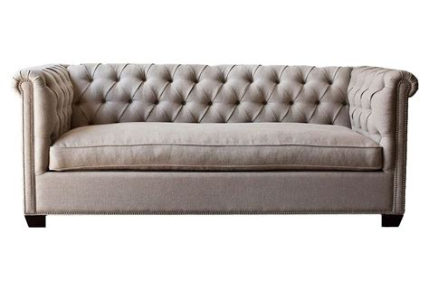 Chesterfield Sofa Cushions Esquire Chesterfield Sofa On One Like The Narrower Arms And Single Seat Cushion