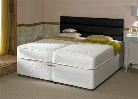 zip and link bed savoy 6ft zip link bed with 1000 pocket sprung memory