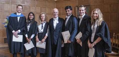 Oxford Mba Timetable by Six Oxford Students Receive Vice Chancellor S Social