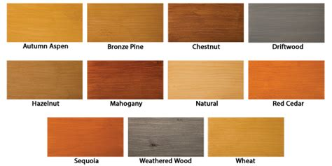 behr semi wood stain color chart   clipart